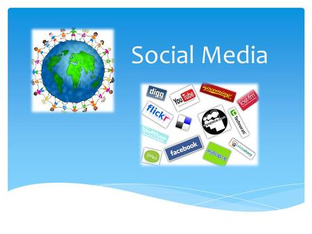 Social Media. Social Media is an umbrella term that defines the various activities that integrate technology, social interaction and the construction.
