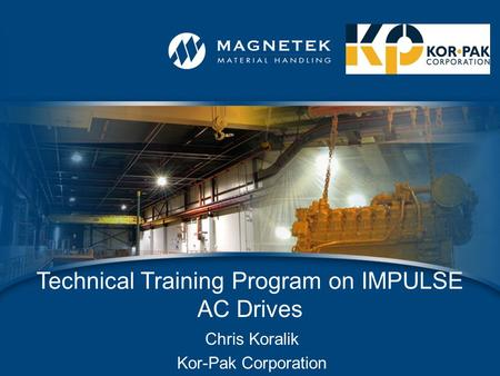 Technical Training Program on IMPULSE AC Drives