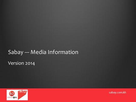 Sabay --- Media Information