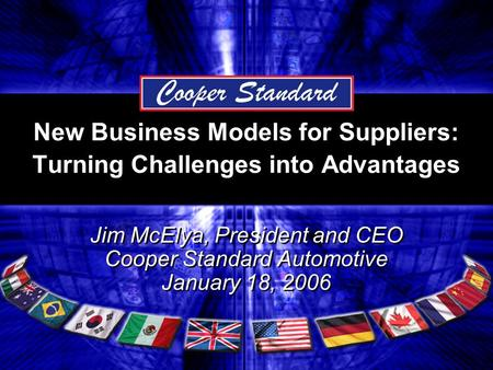 New Business Models for Suppliers: Turning Challenges into Advantages