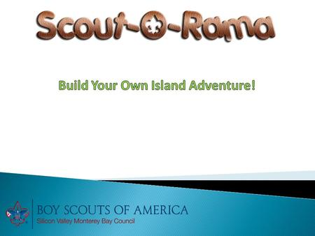  Scout-O-Rama is a large outdoor event where Scouting groups in our local community showcase games, crafts, activities, skills and more.  There are.