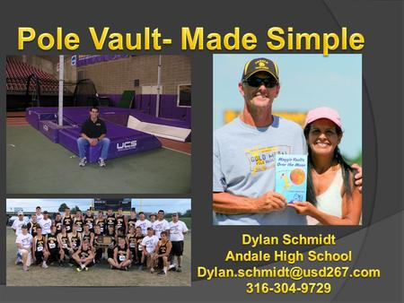 Pole Vault- Made Simple