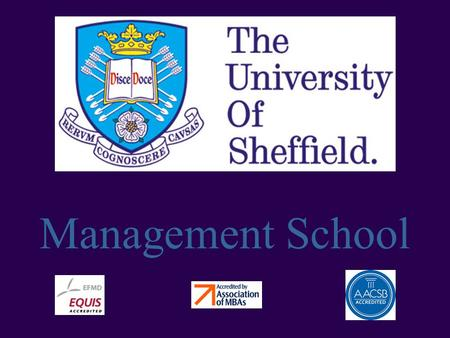Management School. What is internationalisation?
