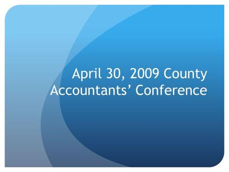 April 30, 2009 County Accountants' Conference. Merry Daher Federal Aid Plans Engineer Phone: (651) 366 3821 Fax : (651) 366-3801