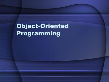 Object-Oriented Programming. Agenda Classes & Objects Attributes Methods Objects in memory Visibility Properties (get & set) Constructors.