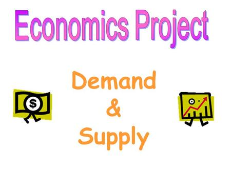 Demand & Supply Demand is different from quantity demanded. Demand refers to the quantities demanded at ALL given prices while quantity demanded refers.