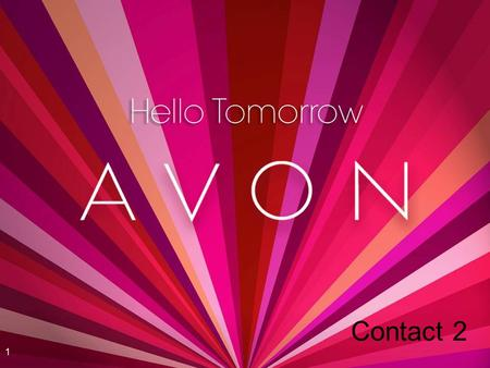 Avon NAMM 2007 4/11/2017 5:48 AM Contact 2 Speaker.ppt.