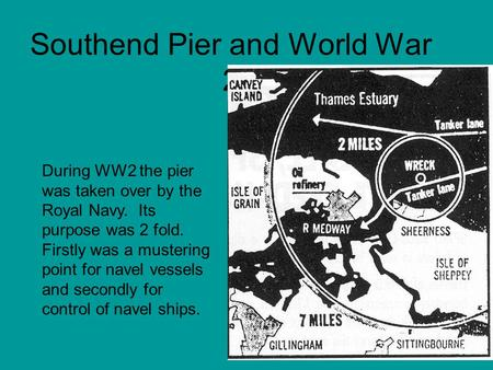 Southend Pier and World War 2