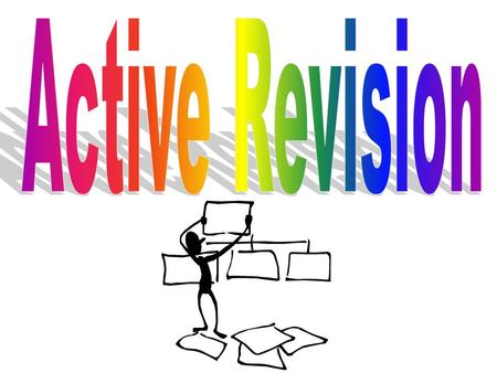 Where should you revise? Warm Well lit (a reading lamp reduces eye-strain) In a quiet room Have a clock or watch nearby (time your revision sessions).
