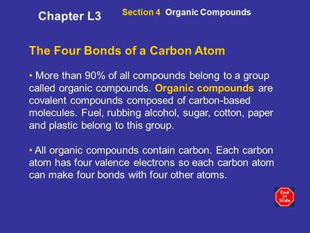 The Four Bonds of a Carbon Atom