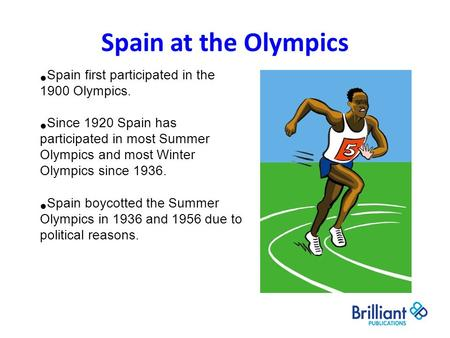 Spain at the Olympics Spain first participated in the 1900 Olympics. Since 1920 Spain has participated in most Summer Olympics and most Winter Olympics.