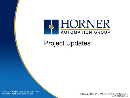Project Updates. XL7 Released May 31 –Single Ethernet Port –Single CAN Port Release July 11 –Dual Ethernet Port –Dual CAN Ports CAN 1 – CsCAN CAN 2 –