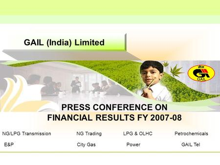 PRESS CONFERENCE ON FINANCIAL RESULTS FY
