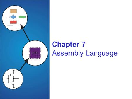 Chapter 7 Assembly Language. Copyright © The McGraw-Hill Companies, Inc. Permission required for reproduction or display. 7-2 Human-Readable Machine Language.