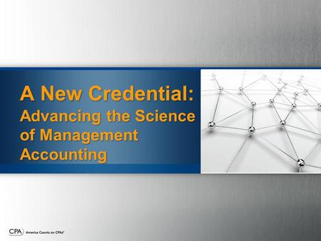Advancing the Science of Management Accounting