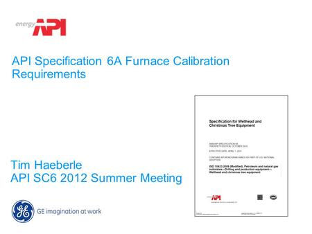 API Specification 6A Furnace Calibration Requirements