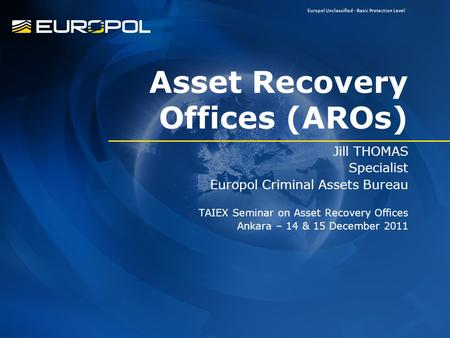 Asset Recovery Offices (AROs)