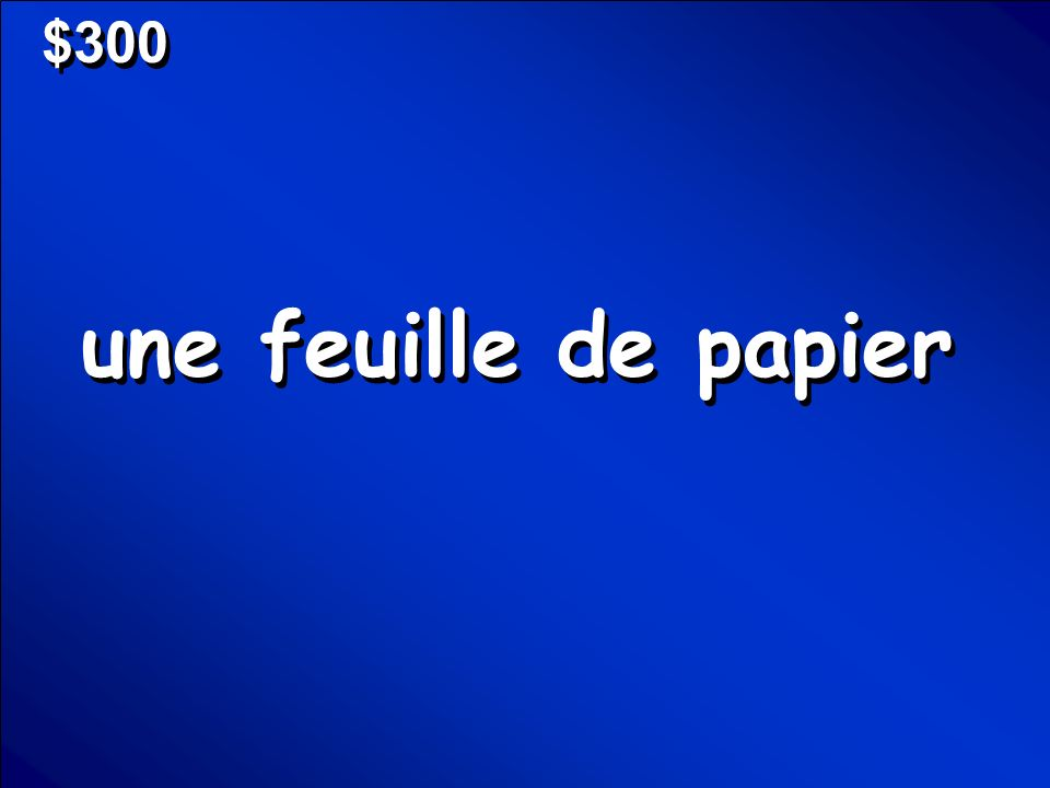 © Mark E. Damon - All Rights Reserved $300 une feuille de papier
