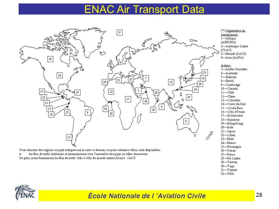 29 ENAC Air Transport Data École Nationale de l Aviation Civile