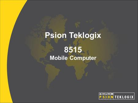 Psion Teklogix 8515 Mobile Computer.