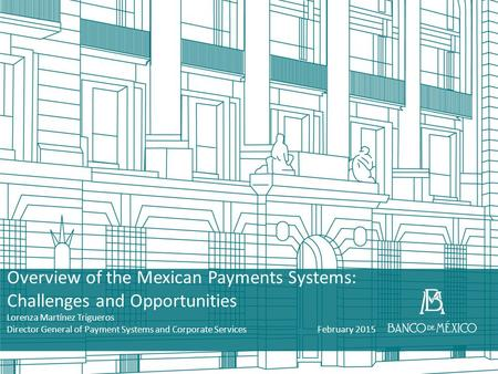 Overview of the Mexican Payments Systems: Challenges and Opportunities