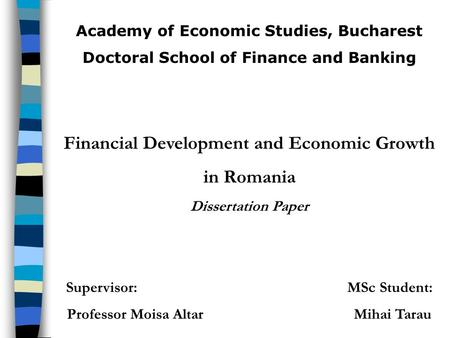 doctoral dissertations in finance Fifteen strong topics for an mba dissertation in finance to prepare your mba dissertations in finance, prioritize the extensive book reading and internet research to.