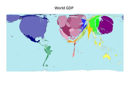 World GDP. Nominal Gross Domestic Product Real Gross Domestic Product, Chained 2005 Dollars.
