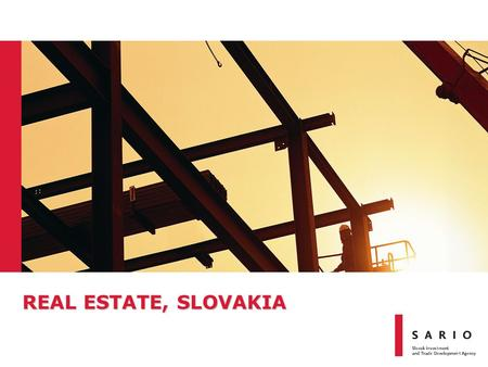 REAL ESTATE, SLOVAKIA. Slovak Road Network Source: National Motorway Company, 2011 and Slovak Airports – Highway in operation – Under construction – To.