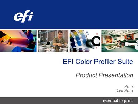 EFI Color Profiler Suite