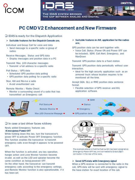 PC CMD V2 Enhancement and New Firmware