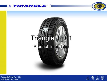 Triangle LL01 Product Information.