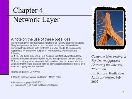 """computer networking a top down approach featuring Textbook """" computer networking – a top-down approach featuring the internet intserv and diffserv 2 integrated be sending into the network or the traffic."""
