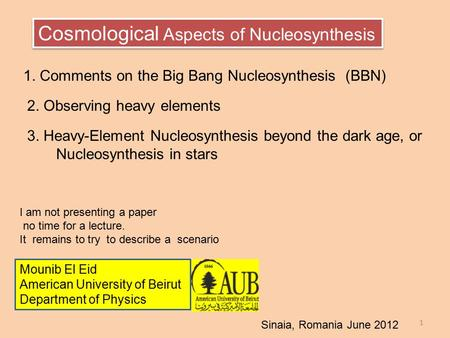 nucleosynthesis of heavy elements