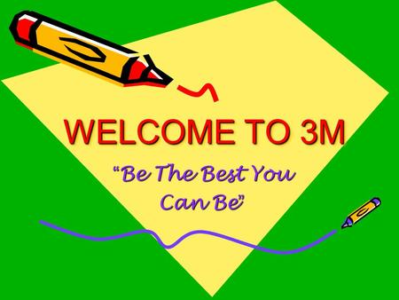 "WELCOME TO 3M ""Be The Best You Can Be"". About Mrs. Mackey Grew up in Story City, Iowa Graduated from Iowa State University This will be my 28th year working."