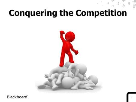 1 Conquering the Competition. 2 Blackboard Learn SWOT StrengthsWeaknessesOpportunitiesThreats Proven market- leader offering longevity in clients' investments.
