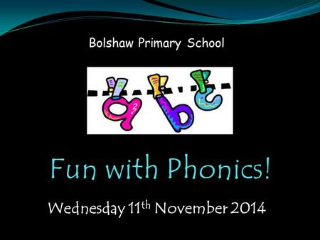 Bolshaw Primary School