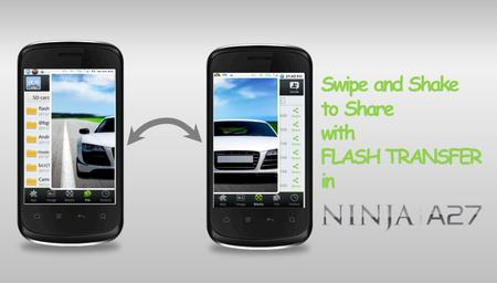 Swipe and Shake to Share with FLASH TRANSFER in. 1 GHz CORTEX A5 Processor 512 MB ROM 256 MB RAM.