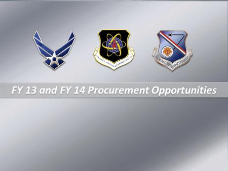 FY 13 and FY 14 Procurement Opportunities. Mr. Scott Cook Small Business Specialist (505) 846-8515