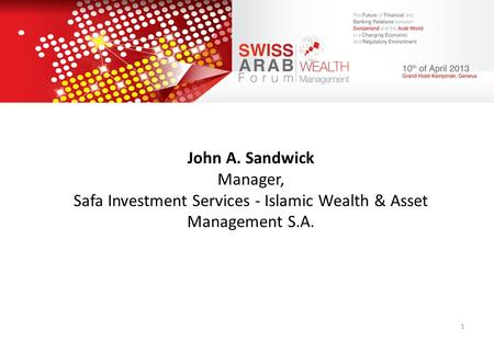 Safa Investment Services - Islamic Wealth & Asset Management S.A.