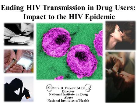 Ending HIV Transmission in Drug Users: Impact to the HIV Epidemic
