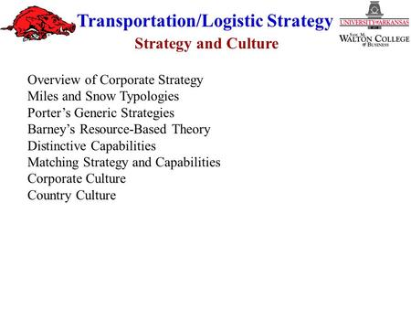 corporate transportation strategy Download presentation powerpoint slideshow about 'corporate transportation' - mundilimos47 an image/link below is provided (as is) to download presentation.
