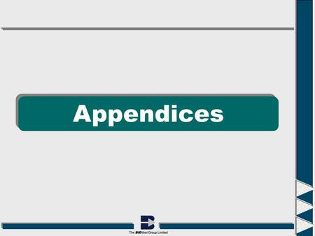 Appendices. Appendix 1: Financial Statements Consolidated Income Statement Constant currency: Avg R/£ 11.72 Actual: Avg R/£ 11.43 Actual: Avg R/£ 11.72.