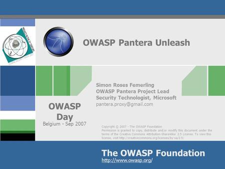 That owasp web application penetration checklist yea, she's