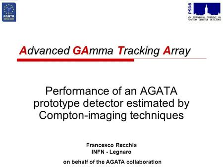 Advanced GAmma Tracking Array