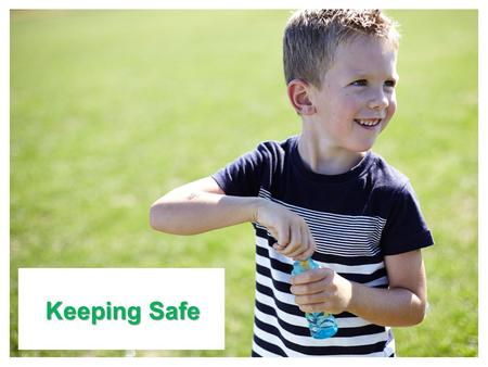 Main title slide Keeping Safe. NSPCC and Department of Education Developing Preventative 'Keeping Safe' Education in Primary Schools in Northern Ireland: