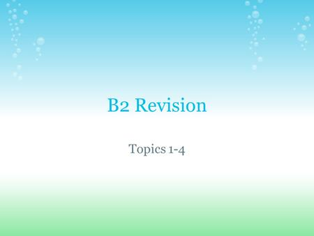 B2 Revision Topics 1-4. DNA - Genes are made of a chemical called DNA. In DNA there 4 <strong>bases</strong> called Adenine, Cytosine, Thymine and Guanine DNA contains.