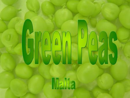 Nutritional Information Peas are a good source of vitamin A, vitamin C, folate, thiamine (B1), iron and phosphorus. As pulses, they are rich in protein,