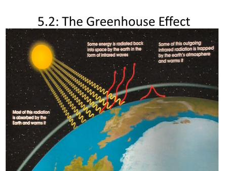 5.2: The Greenhouse Effect. 5.2.1: Carbon cycle.