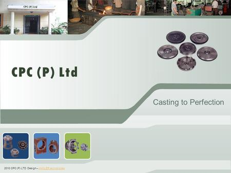 ` Casting to Perfection 2010 CPC (P) LTD Design – ANGLER technologiesANGLER technologies.