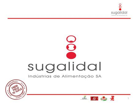 26-03-2010 1. 1. Introduction Sugalidal results from the merger of 2 tomato leading companies. 2 SUGAL: Established in 1957 is located in Azambuja (50.